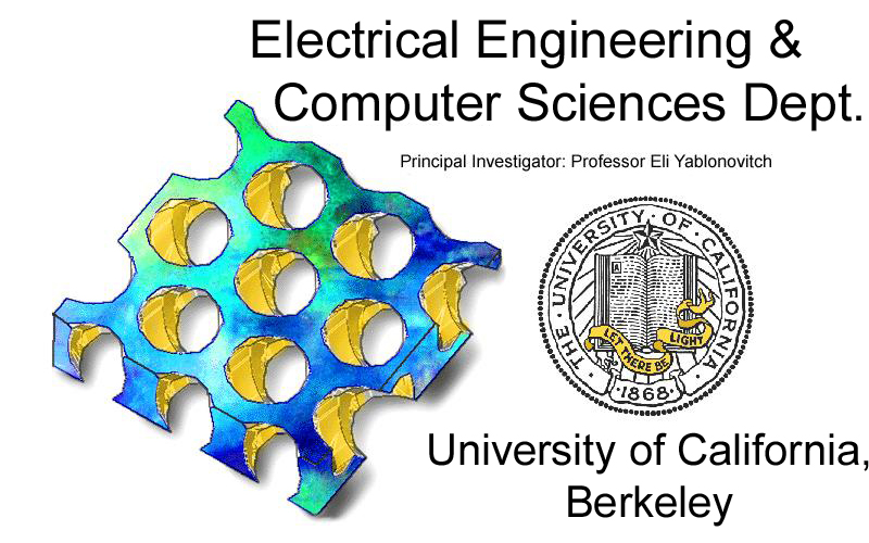 Yablonovitch Research Group, Electrical Engineering @ University of ...